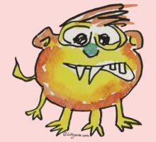 Funny Cartoon Monstar 021 Kids Tee