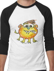 Funny Cartoon Monstar 021 Men's Baseball ¾ T-Shirt