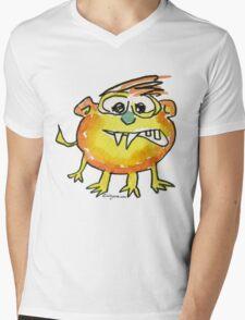 Funny Cartoon Monstar 021 Mens V-Neck T-Shirt