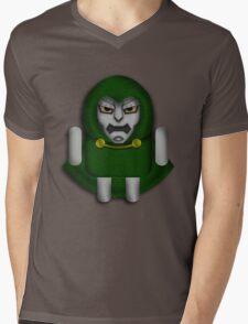DoomDROID Mens V-Neck T-Shirt