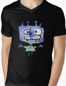 Funny Cartoon Monstar 022 Mens V-Neck T-Shirt