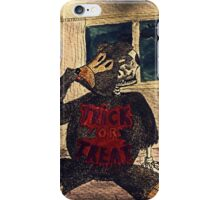 Hal The Halloween Teddy iPhone Case/Skin
