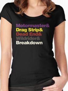 Menasor Women's Fitted Scoop T-Shirt