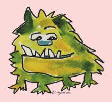 Funny Cartoon Monstar 026 Kids Tee