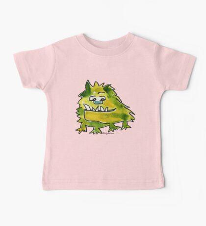Funny Cartoon Monstar Monster 026 Baby Tee