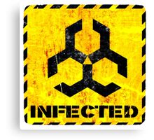 Infected Canvas Print