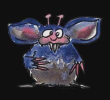 Funny Cartoon Monstar 028 Baby Tee