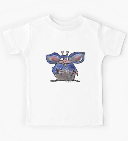 Funny Cartoon Monstar 028 Kids Tee