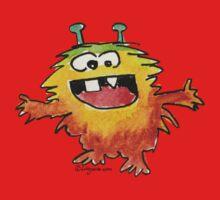 Funny Cartoon Monstar 030 Kids Clothes