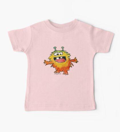 Funny Cartoon Monstar Monster 030 Baby Tee
