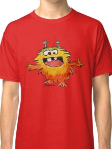 Funny Cartoon Monstar 030 Classic T-Shirt