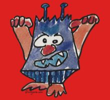 Funny Cartoon Monstar 032 Kids Clothes