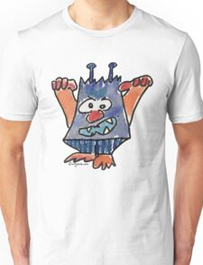 Funny Cartoon Monstar 032 Unisex T-Shirt