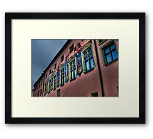 Spicy Salzburg Wall Framed Print