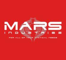 MARS Industries White Logo Kids Clothes
