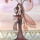 """Autumn"" Fairy Art by Molly Harrison by Molly  Harrison"