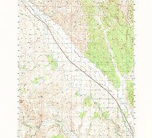USGS Topo Map Oregon Jamieson 282612 1950 62500 by wetdryvac