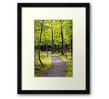 Happy trails to you Framed Print