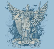 Libertas Freedom Goddess Kids Tee
