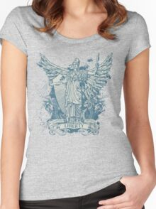 Libertas Freedom Goddess Women's Fitted Scoop T-Shirt