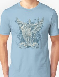 Libertas Freedom Goddess Unisex T-Shirt