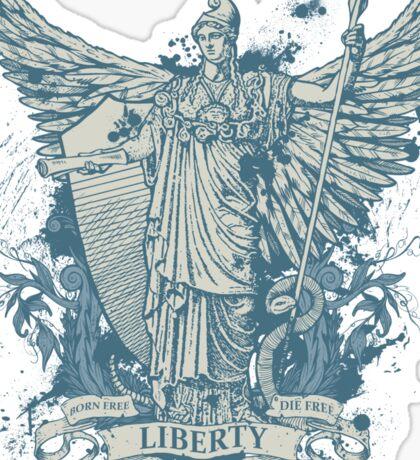 Libertas Freedom Goddess Sticker