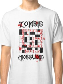 Zombie Crossword Classic T-Shirt