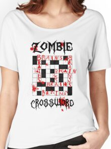 Zombie Crossword Women's Relaxed Fit T-Shirt