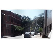 Everyday Savannah Street Poster