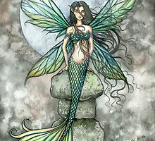 """From Sea to Sky"" Mermaid Fairy Art by Molly Harrison by Molly  Harrison"