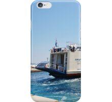 Proteus ferry docking, Alonissos iPhone Case/Skin