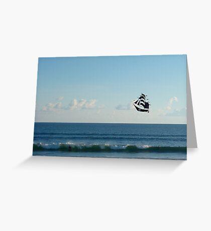 Sky pirates Greeting Card