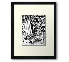 Synthetic Girl Framed Print