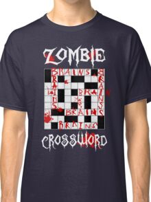 Zombie Crossword Classic T-Shirt