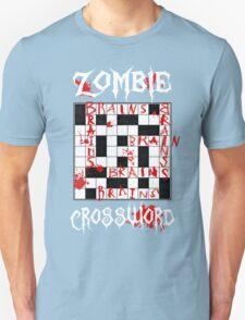 Zombie Crossword Unisex T-Shirt