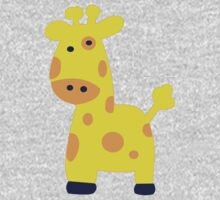 George the Giraffe One Piece - Long Sleeve