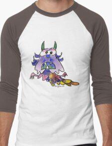 Funny Cartoon Monstar 037 Men's Baseball ¾ T-Shirt