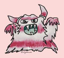 Funny Cartoon Monstar 038 Kids Tee