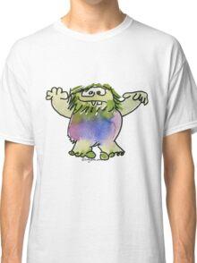 Funny Cartoon Monstar 042 Classic T-Shirt