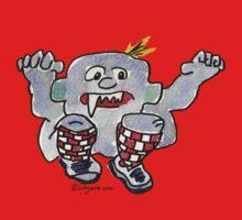 Funny Cartoon Monstar 043 Kids Clothes