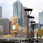 Melbourne in July by Nicki Baker