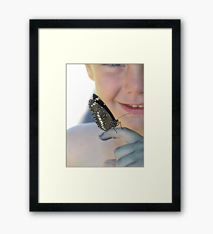 Hello to you Framed Print