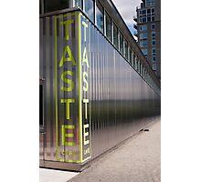 Taste Restaurant Photographic Print