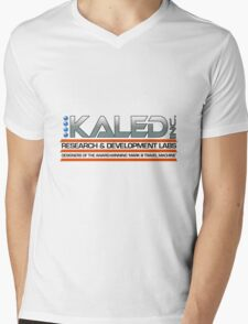 KALED Inc. logo Mens V-Neck T-Shirt