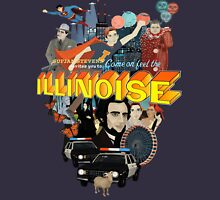 Come on! Feel the Illinoise! Unisex T-Shirt