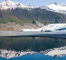 Mendenhall glacier Juneau Alaska by Gleb Zverinskiy