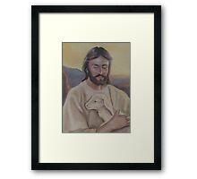 The Gentle Shepherd Framed Print