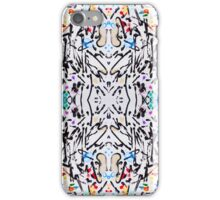 Abstract garden in reflect iPhone Case/Skin