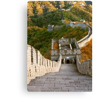 The Great Wall Series - at Mutianyu #10 Canvas Print