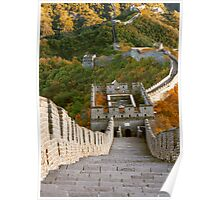 The Great Wall Series - at Mutianyu #10 Poster